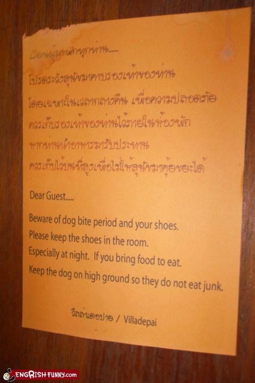 food hotel warning wtf - 5849321216