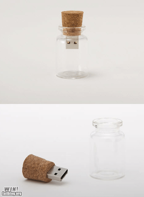 bottle clever gadget technology USB - 5849402624