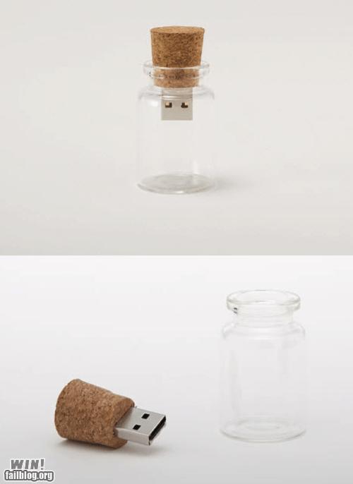 bottle clever gadget technology USB - 5849402624