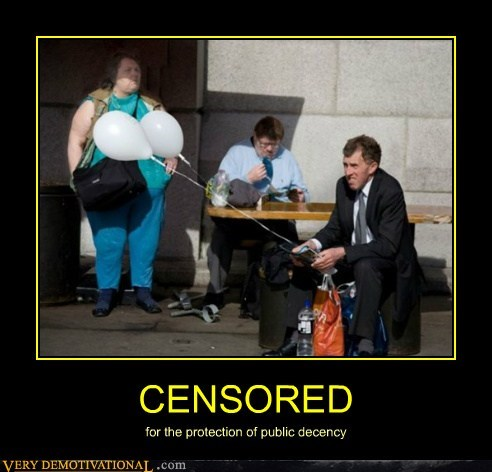 Balloons censored eww hilarious wtf