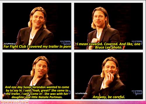 actor,brad pitt,celeb,funny