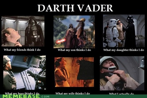 darth vader How People View Me things what i do