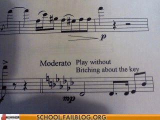 band band camp bitter key sheet music whining