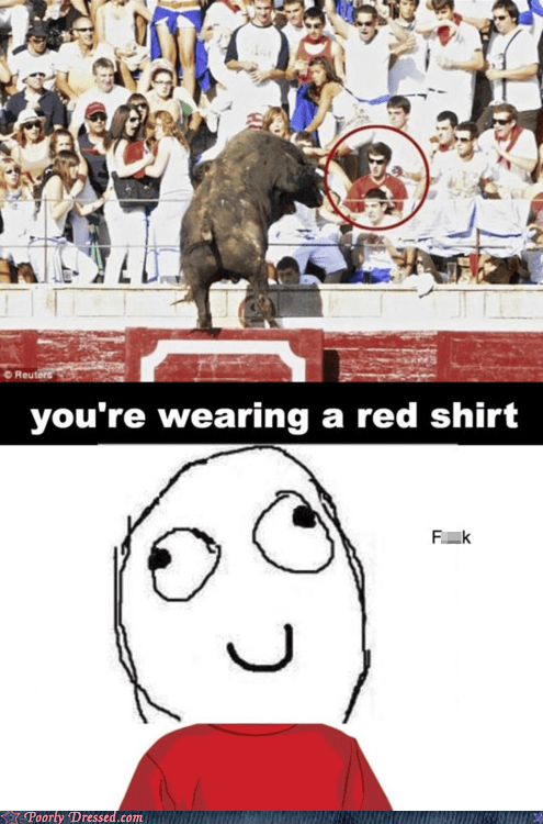 bull fight,charge,eff,red shirt,toro