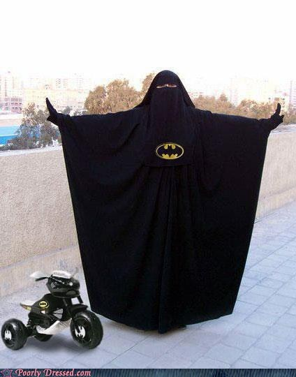 batman,burka,Product Placement