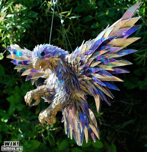 animals art CD g rated Hall of Fame recycle sculpture win - 5850258688