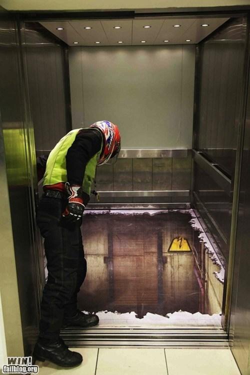 art elevator illusion vertigo - 5850288128