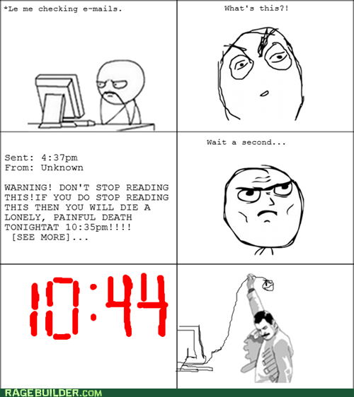 chain mail freddie Rage Comics time