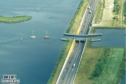 bridge cool design freeway river - 5850448384