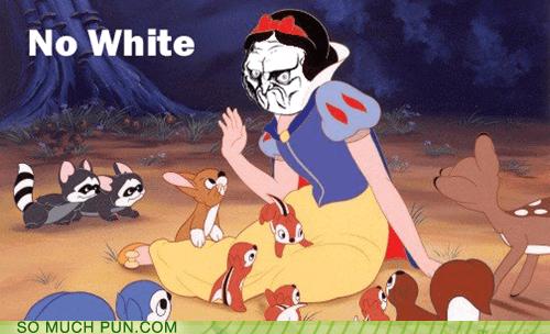 literalism no no face Rage Comics shoop similar sounding snow white