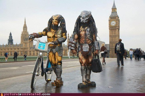 London Movie Predator wtf