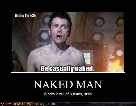 doctor who,hilarious,naked man,wtf