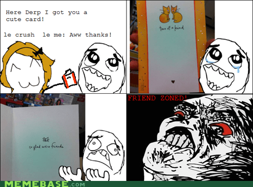 card friend zone Rage Comics raisin rage - 5852427008