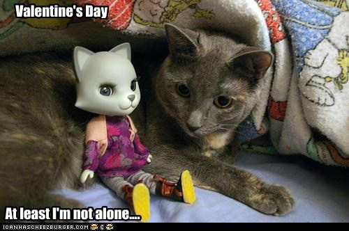 Valentine's Day At least I'm not alone....