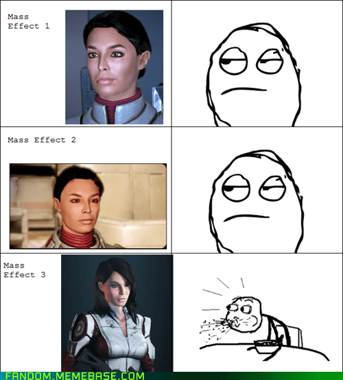 cereal guy mass effect Rage Comics video games - 5852903424