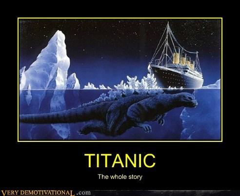 godzilla hilarious story titanic - 5852906240