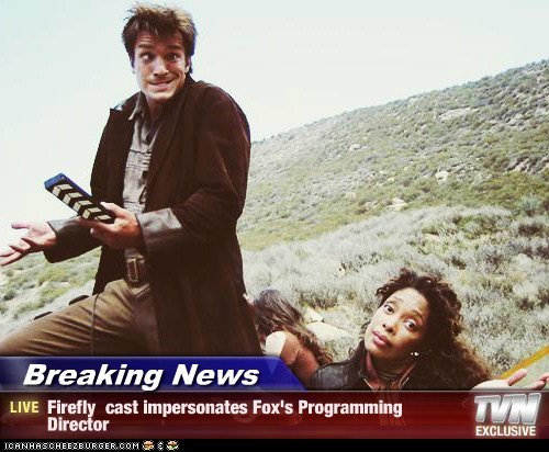 captain malcolm reynolds director Firefly fox gina torres nathan fillion programming stupid zoe washburn - 5853168384