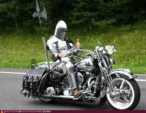 armor,best of week,Knightrider,motorcycle,wtf