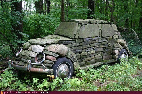 beetle flintstones stone wtf - 5854118912