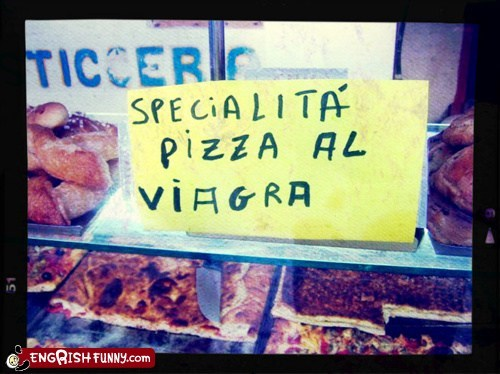food menu pizza viagra