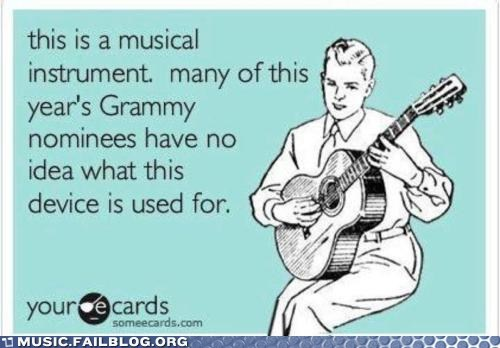 e card Grammys guitar Hall of Fame instrument lip sync - 5854204928