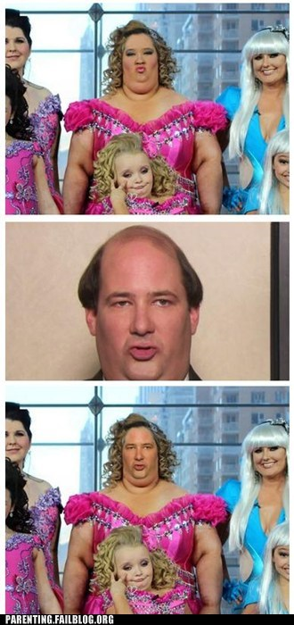 it all makes sense,the office,toddlers and tiaras