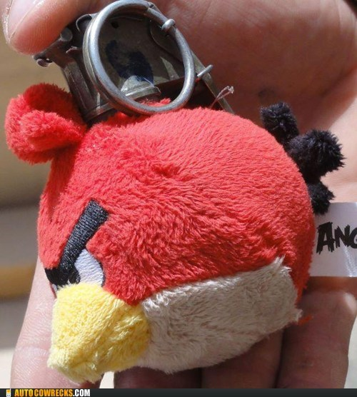 angry birds grenade IRL product - 5854374656