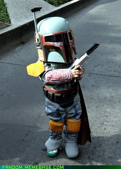 best of week boba fett cosplay cute kids star wars - 5854394368