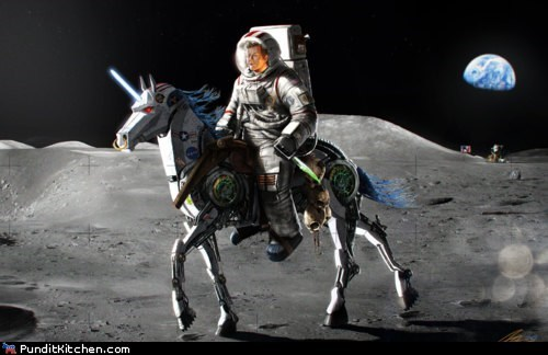 john-f-kennedy moon landing moon pony political pictures