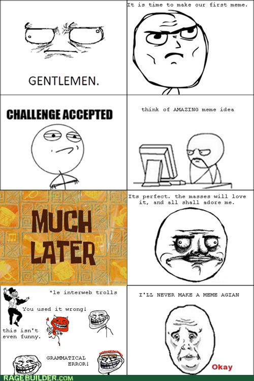 gentlemen me gusta Memes Okay Rage Comics - 5854629376