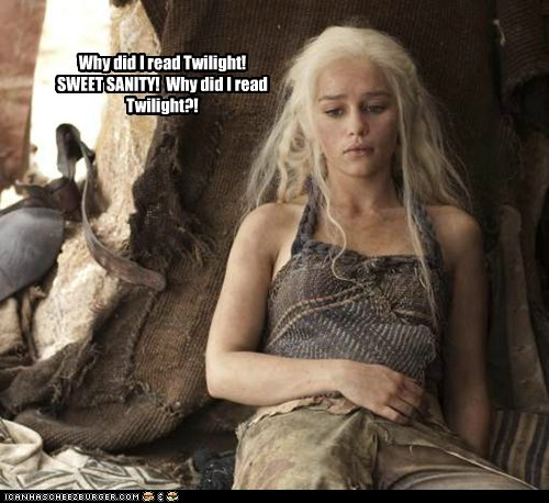 Daenerys Targaryen Emilia Clarke Game of Thrones read sanity why - 5854672896