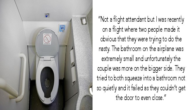 flight attendants talk about the mile high club