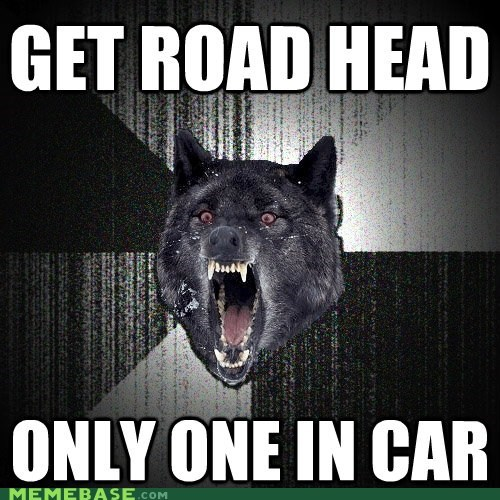 automobile,face,Insanity Wolf,road,sex