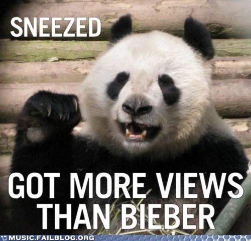 Bieber justin bieber panda sneeze youtube - 5855031296