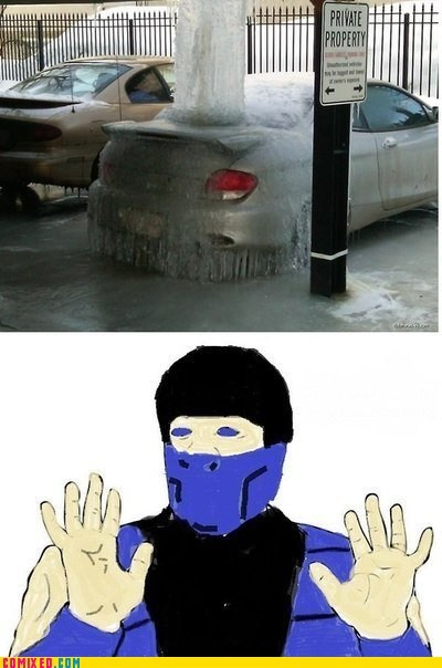 Badass ice meme Mortal Kombat Sub Zero the internets - 5855046144