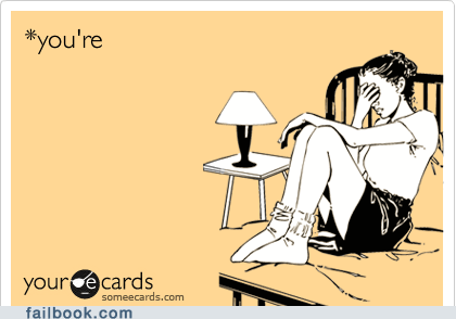 ecard,failbook,grammar,g rated,youre