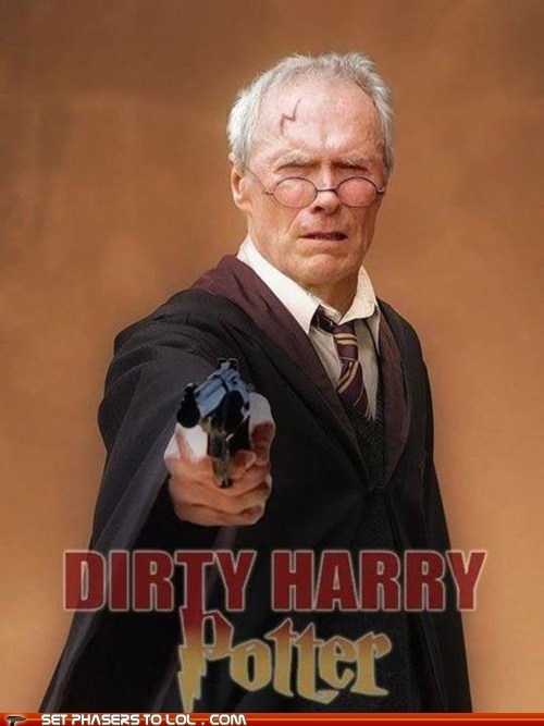 best of the week Clint Eastwood dirty harry Harry Potter potter revolver - 5855503616
