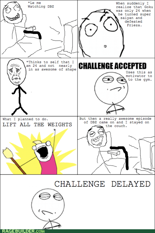 all the things challenge denied Rage Comics work out - 5855778048