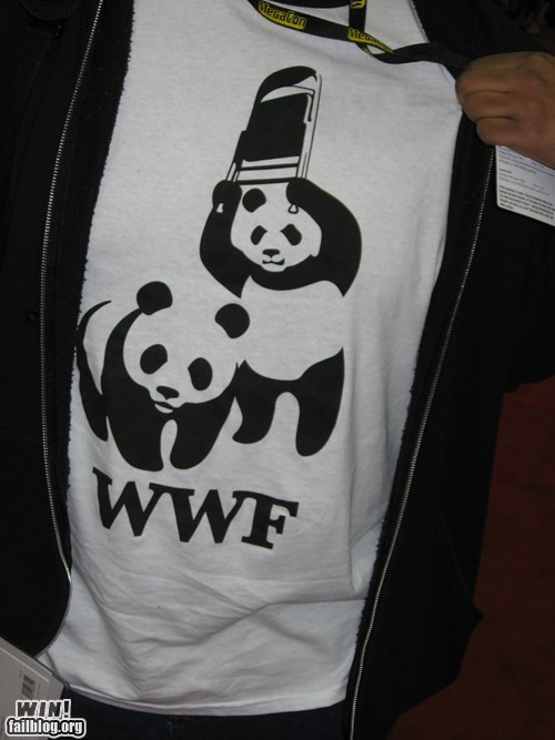 design,g rated,Hall of Fame,panda,puns,shirt,win,wrestling,wwf