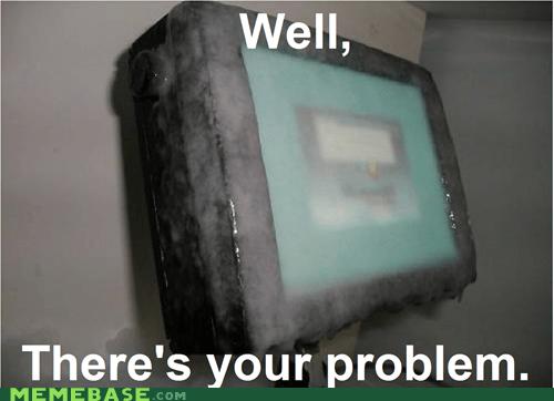 computer,frozen,Memes,problem
