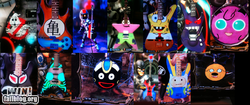 cartoons,guitar,modifications,Music,pop culture