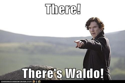 bennedict cumberbatch,game,ruined,Sherlock,sherlock bbc,wheres waldo