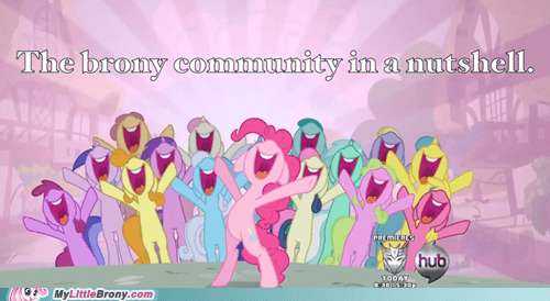 Bronies brony community Party pinkie pie smile - 5858683904