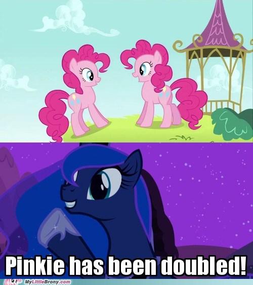 clone doubled huzzah meme pinkie pie - 5858926848