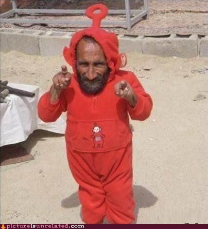 costume creeper teletubbies TV wtf - 5858985984