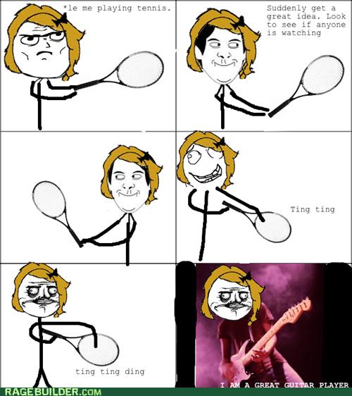 guitar me gusta Rage Comics tennis - 5859129600