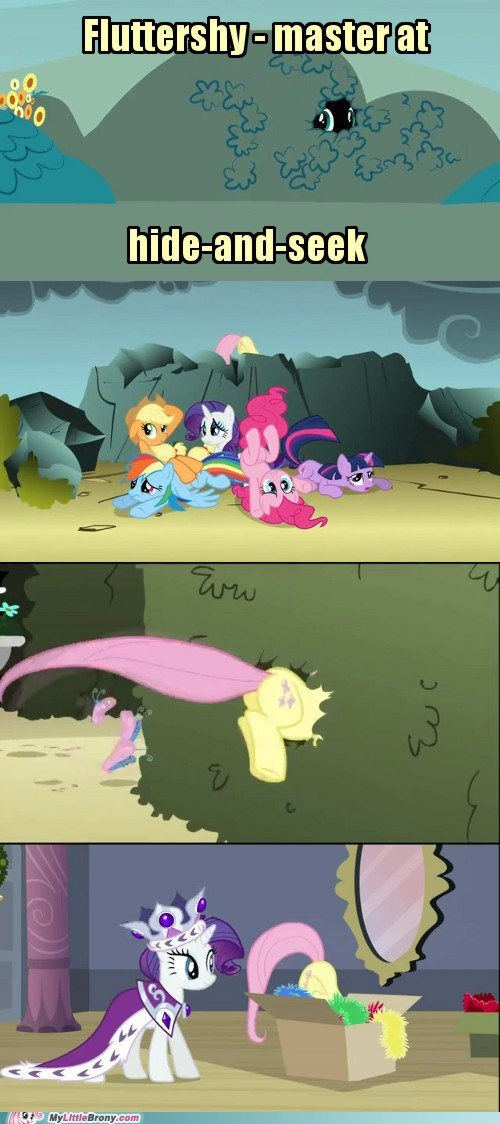 fluttershy hide and seek master TV - 5859502080