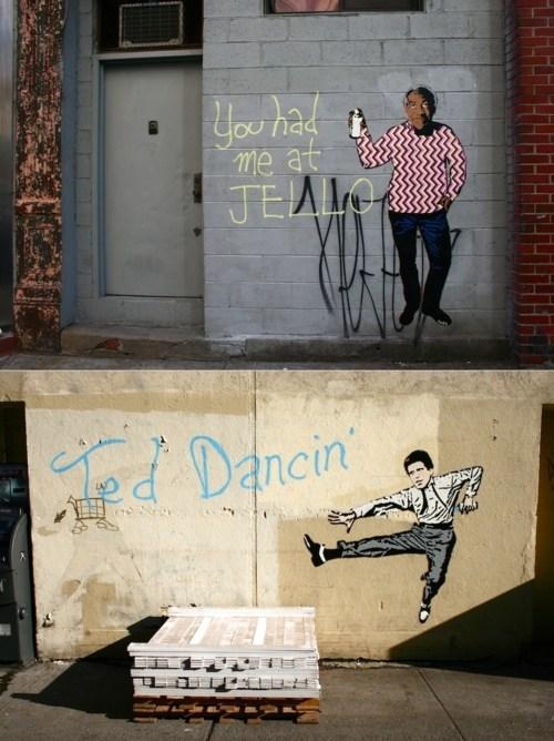 Hanksy,Street Art