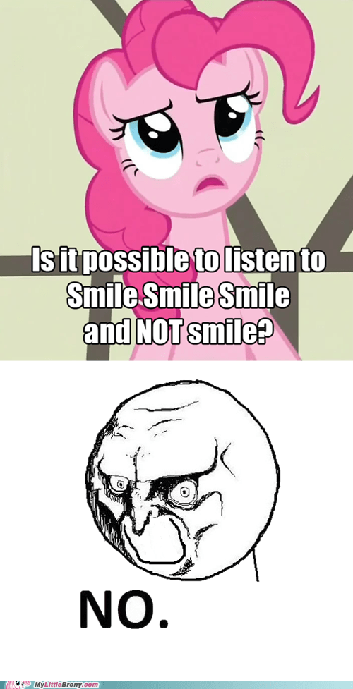 Music,no,pinkie pie,smile smile smile,the internets