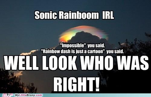 impossibru IRL rainbow dash sonic rainboom - 5860374016
